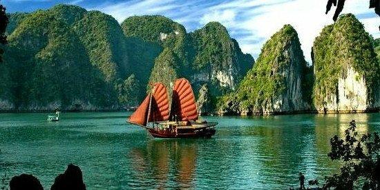 Retraite au vietnam : joli paysage pour une vie heureuse sans dépenser trop