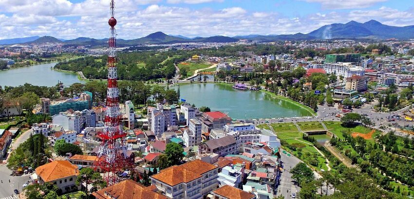 Dalat is a popular city in Vietnam famous for its cool weather