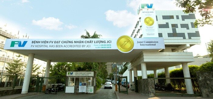 FV French-Vietnamese Hospital in District 7, reliable and renowned for its quality service