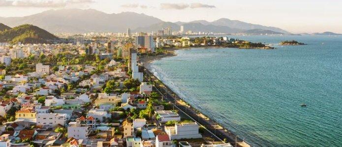 Nha Trang is a cheap best beach coast city to live in Vietnam