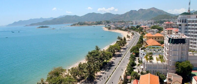 Nha Trang is a nice landscape beach city very popular for expat
