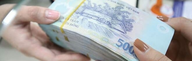 Receive your salary in cash or request a transfer to pay your rent from a Vietnamese bank account