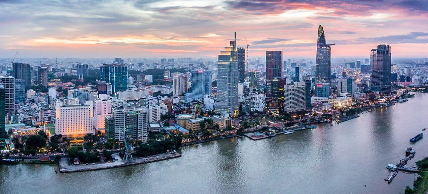Richest and best city in Vietnam : ho chi minh city