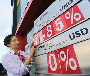 Savings account in USD or VND in Vietnam with 8% interest