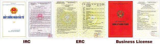 Comment avoir un IRC : certificat de reglementation d'investissement et license