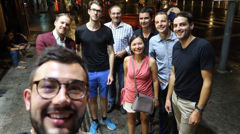 french entrepreneurs expats in Thailand, Cambodia and Vietnam
