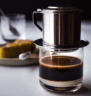 ca phe sua da : café vietnamien très bon