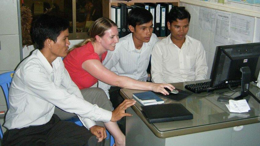 faire un stage en marketing, vente ou journalisme au Cambodge