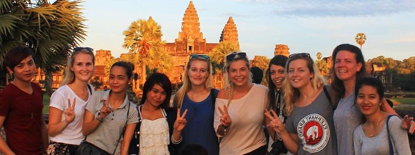 how to live in Cambodia, work in education or health sector as expat