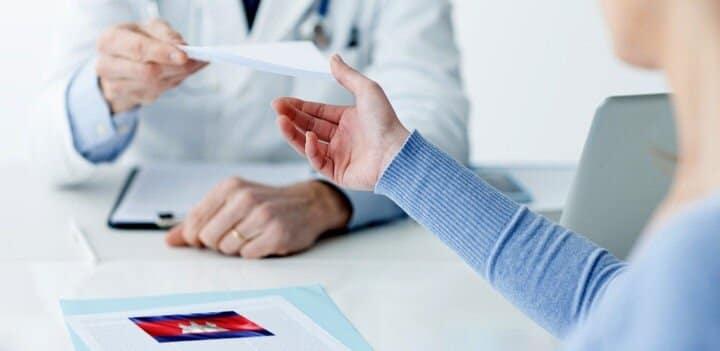 remboursements des soins, ordonnances et assurance santé internationale au cambodge