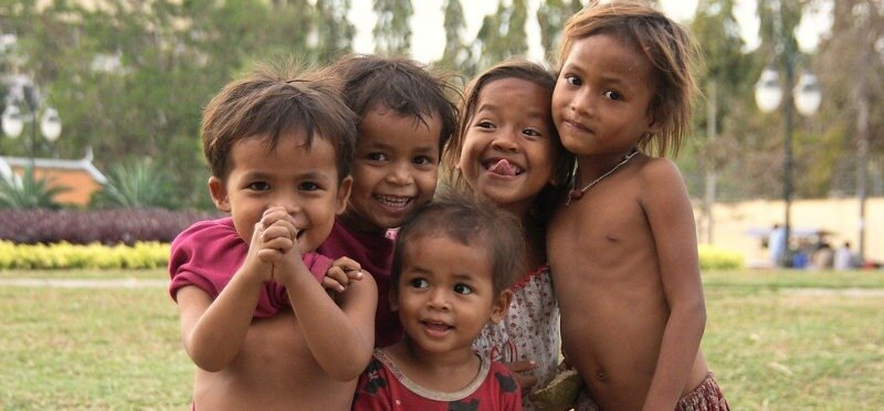 Les retraités aiment habiter au Cambodge : peuple khmer accueillant