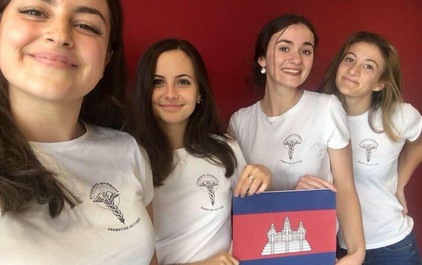stage humanitaire dans le secteur de la santé : étudiantes françaises