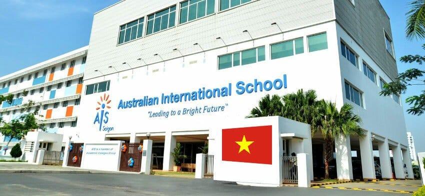 Australian international school for good educational system in Vietnam