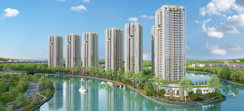 Gem Riverside is a luxury apartment project in Thu Thiem, Saigon