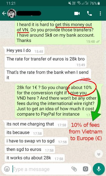ᐅ Send & Transfer money ⇄ from / to Vietnam ⇒ Best way