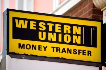 Western Union is a global service to send currencies worldwide anywhere