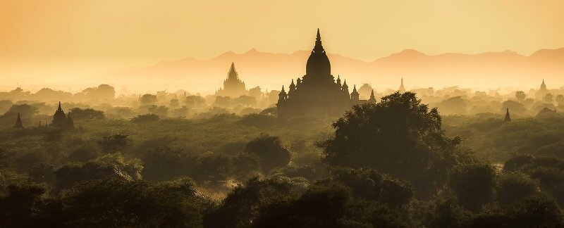 Amazing landscapes in Myanmar to move and expatriate