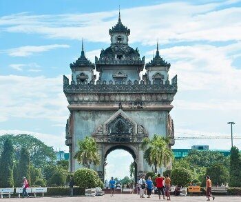 Move to Laos to live in Vientiane