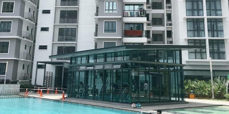 Condominium ou service appartement à louer en Malaisie