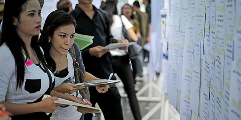 Marché de l'emploi pour les filipinos locaux et les étrangers