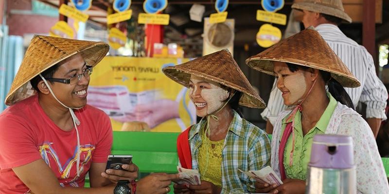 Virement bancaire au Myanmar