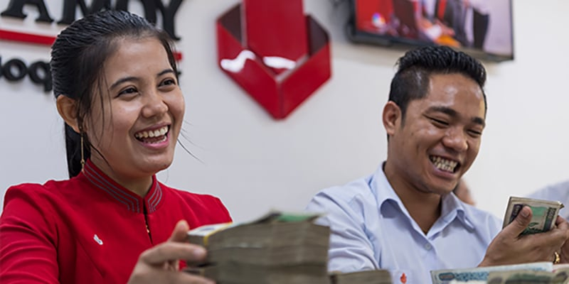 Yoma banque en Birmanie pour les entrepreneurs et le business