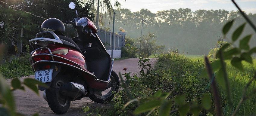 Apprendre à conduire une moto ou scooter au Vietnam