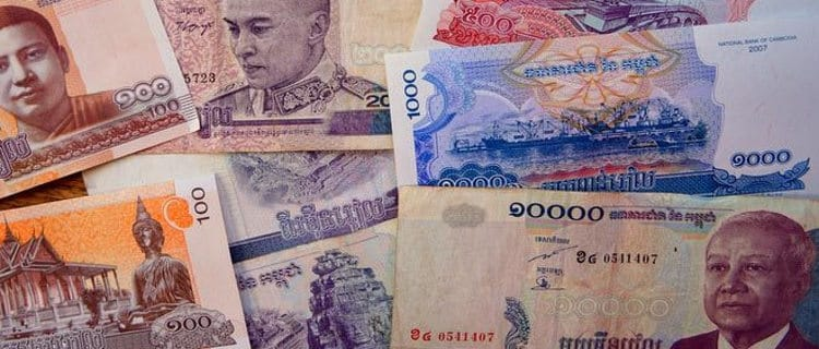 Cambodian Riel is the official currency in Cambodia