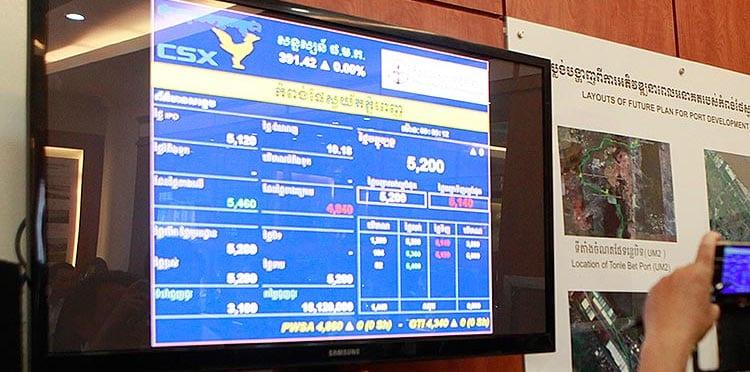 CSX : Cambodia securities exchange