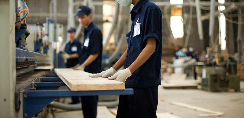 Manufacturing factory of furniture indoor and outdoor