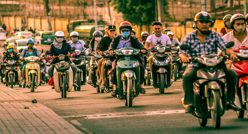 Passer son permis de conduire moto ou scooter A1 ou A2 au Vietnam