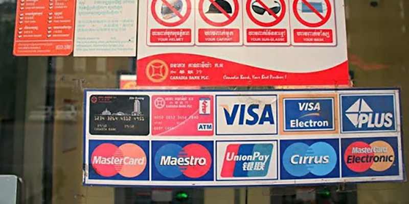 american cards are they accepted in ATM of cambodia