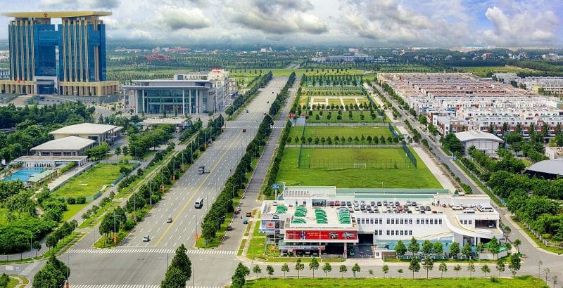 Binh Duong est une zone industrielle où implanter ses usines