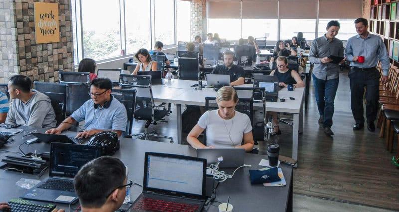 Espace de coworking Dreamplex au Vietnam