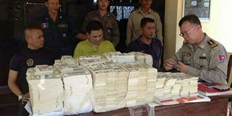 fake money in Cambodia