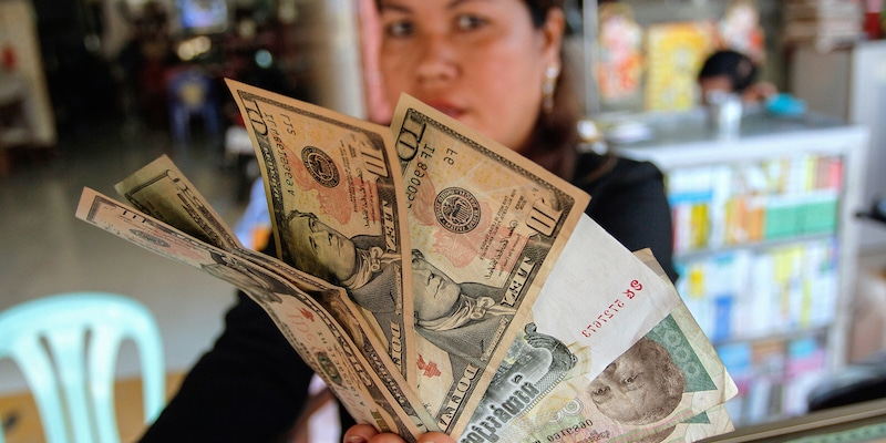 official currencies used in Cambodia