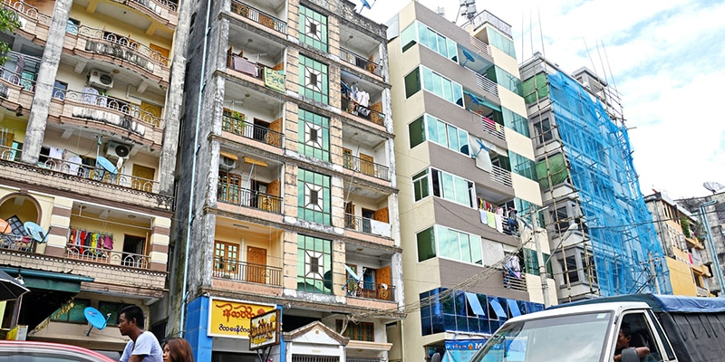 ready to rent an apartment in myanmar