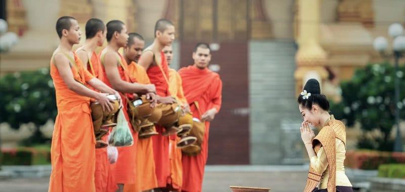 Culture laotienne et bouddhisme : prisé des expatriés
