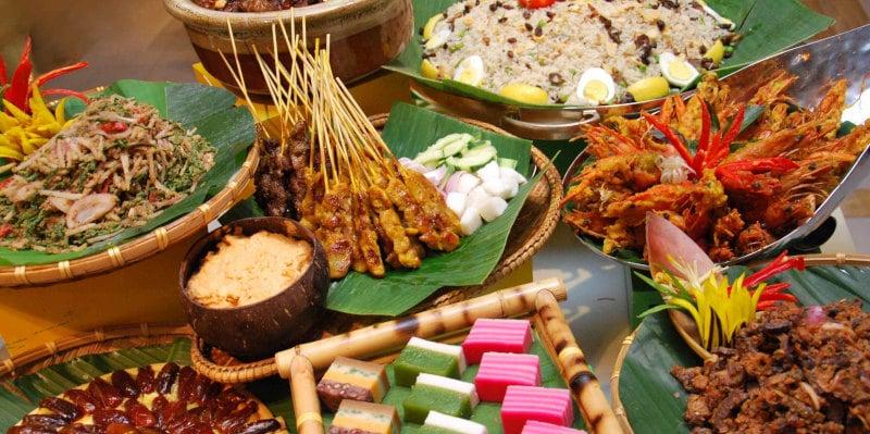 Nourriture de rue excellente et pas chère en Malaisie