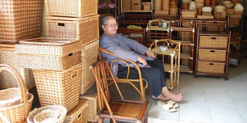 produits de la maison pour exporter en rotin du vietnam