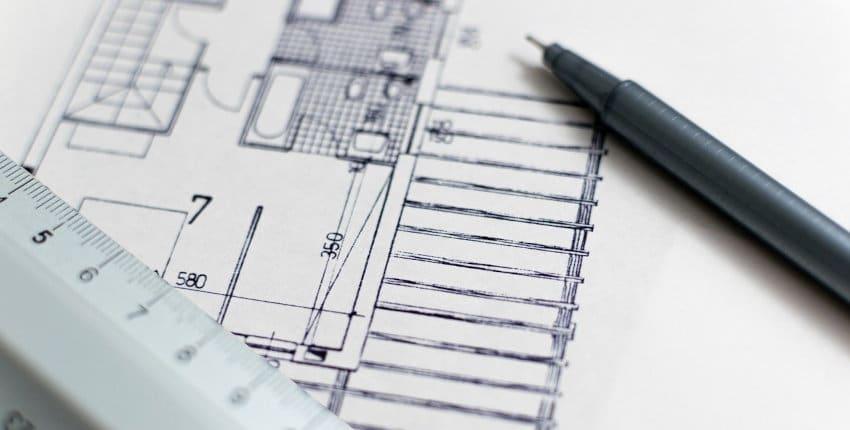 architecture et plan de l'architecte