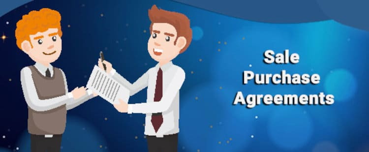 SPA : sales purchase agreement