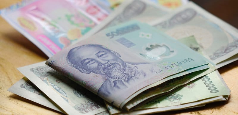 Acheter des Dong vietnamiens : monnaie du Vietnam